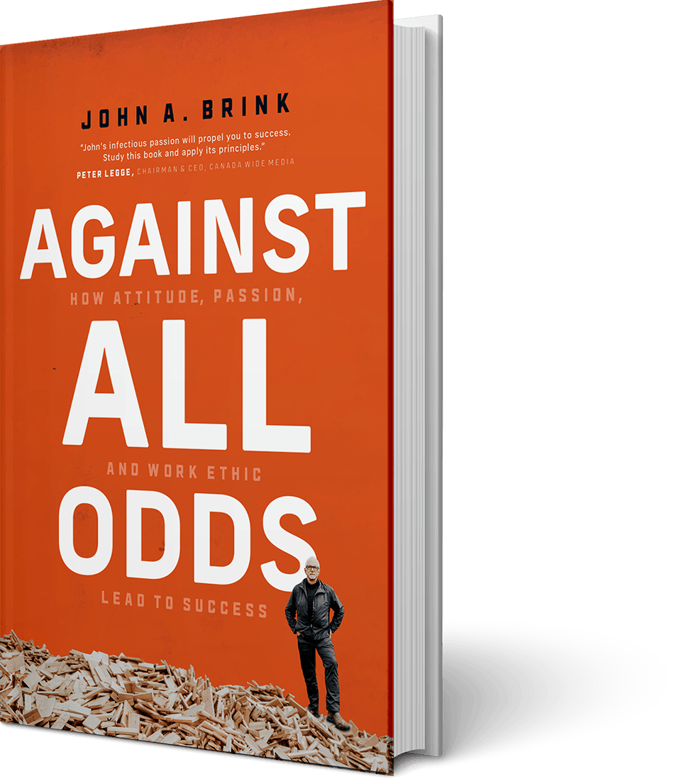 Againts All Odds - John A Brink - Book Cover