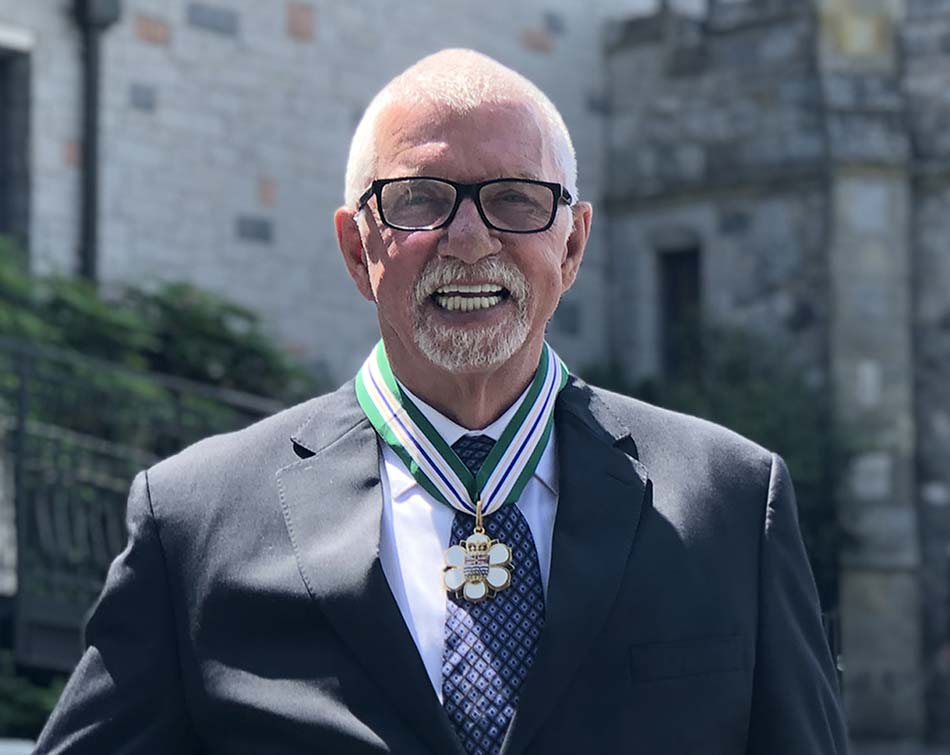 John Brink Order of British Columbia